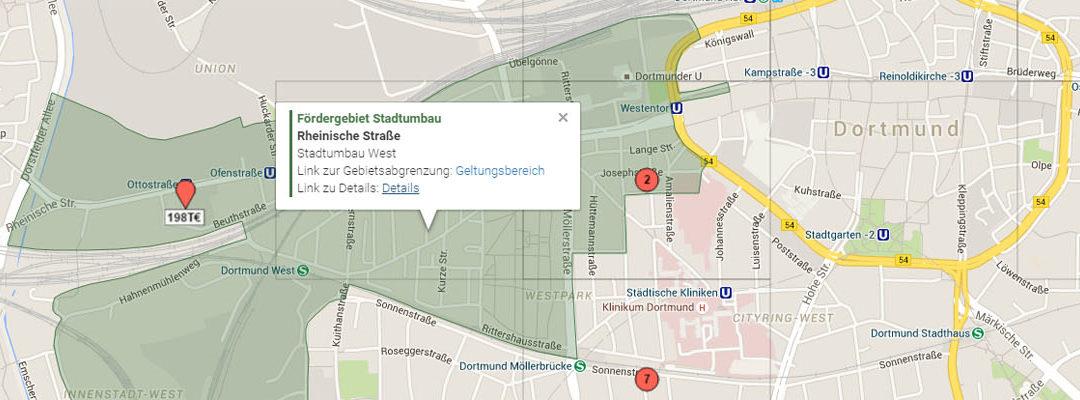 Sonderkarten Dortmund