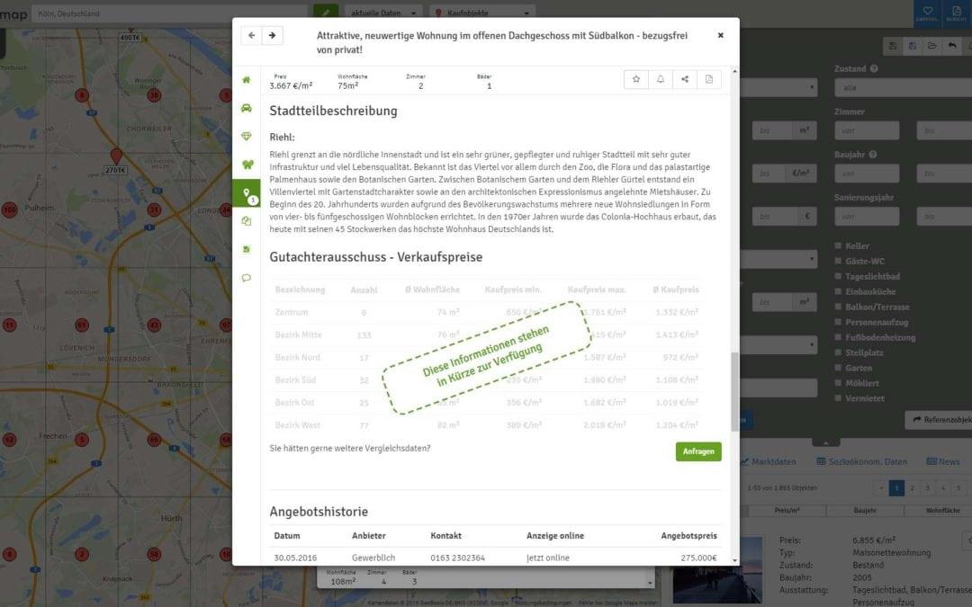 Stadtteilbeschreibungen für Köln und Dortmund