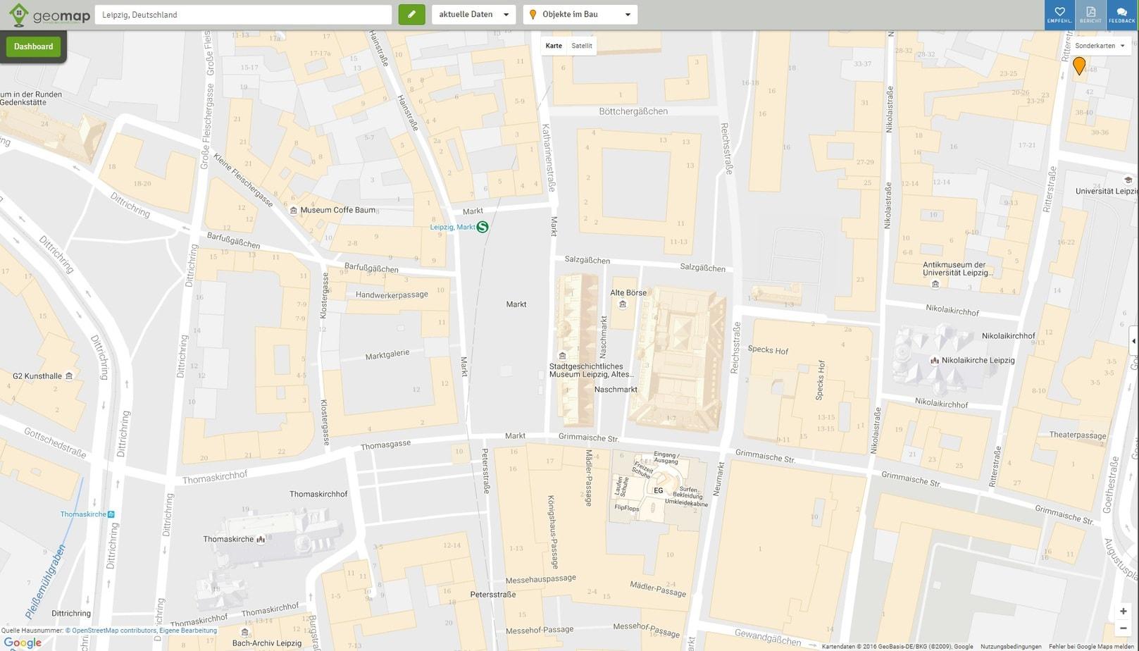 Karte Mit Hausnummern.Hausnummern Anzeige Geomap