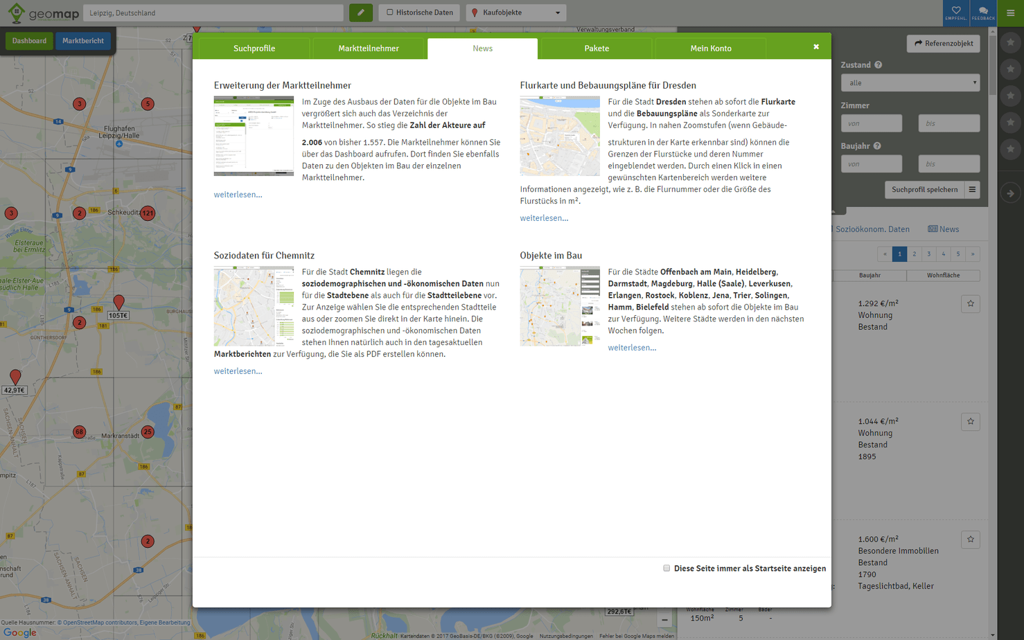 geomap Dashboard