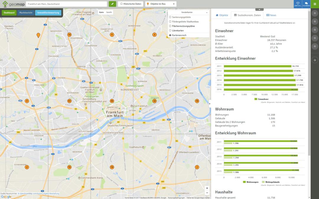 Aktualisierung der Soziodaten für Städte und Gemeinden