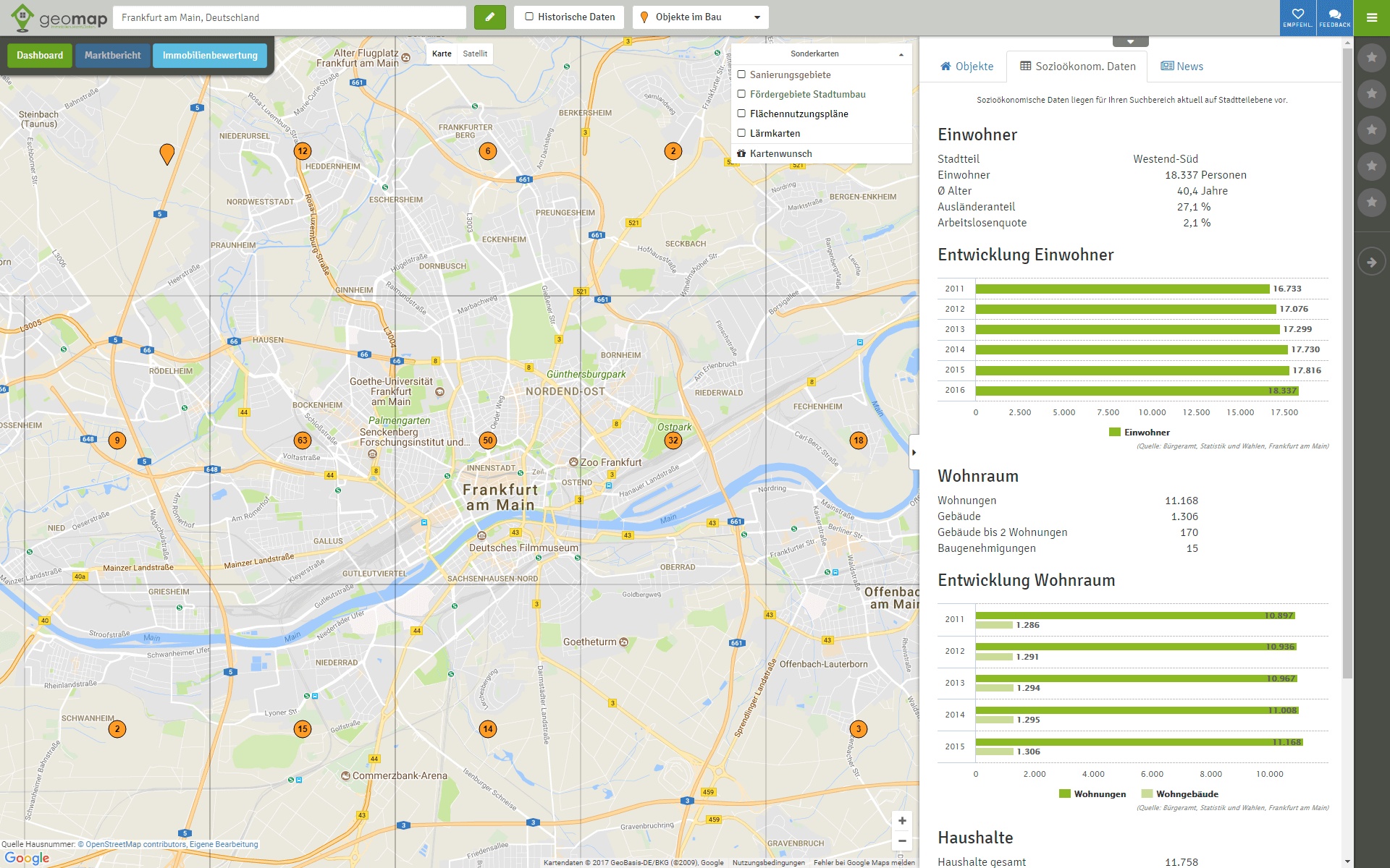 geomap-Soziodaten-Frankfurt