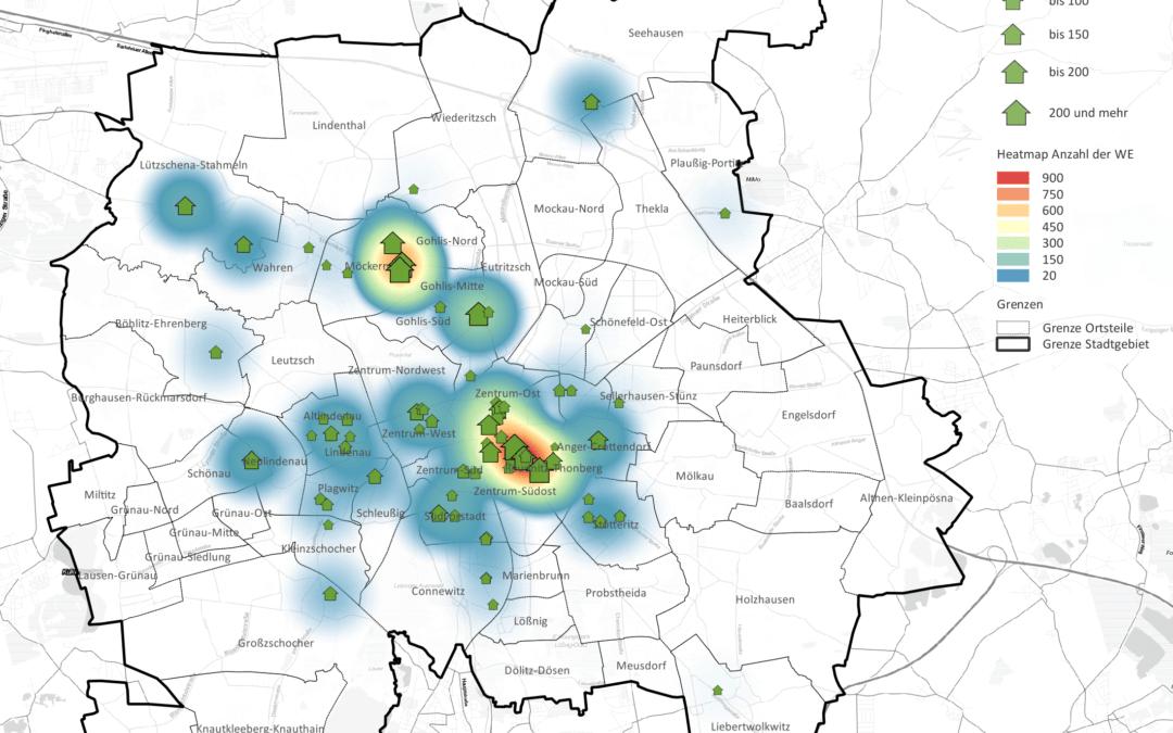 Wohnungsbau Leipzig: Boom vor allem in zentrumsnahen Lagen