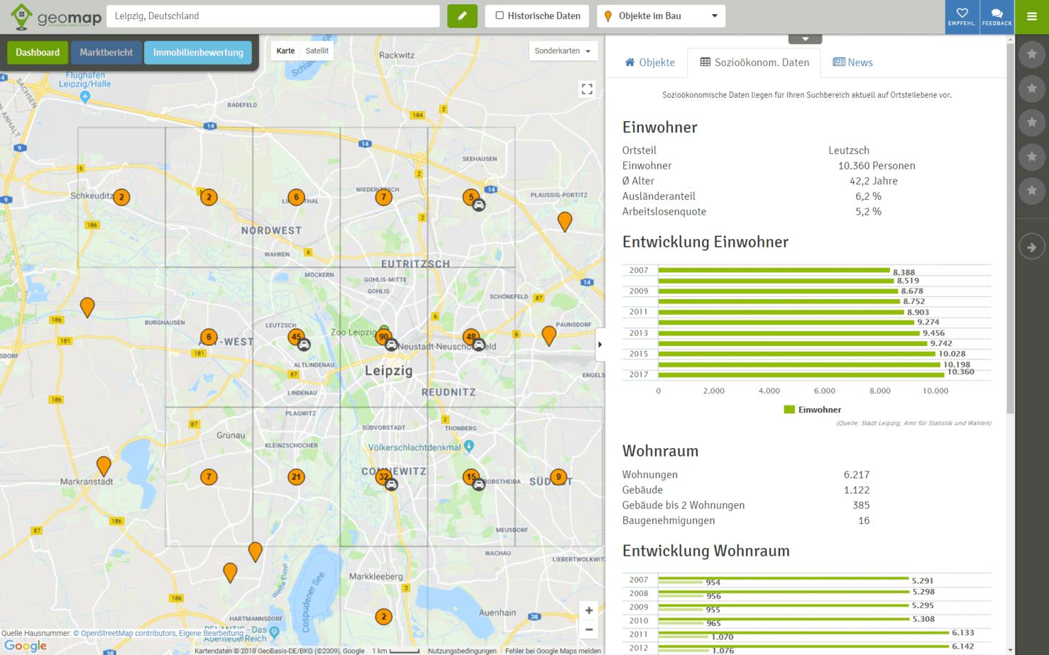 Aktualisierung Der Soziodaten Fur Leipzig Geomap