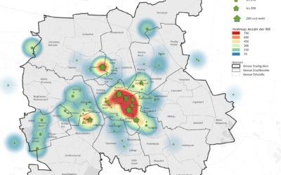 Wohnungsbau in Leipzig überwiegend im Westen und zentrumsnahen Lagen