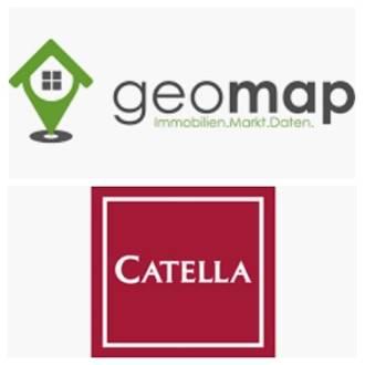 GeoMap Immobiliendaten für Catella Market Tracker