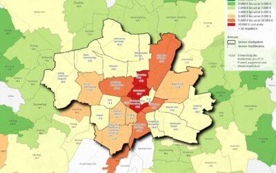 Wohnraum in München: Durchschnittlich 8.500 Euro pro Quadratmeter im Bestand