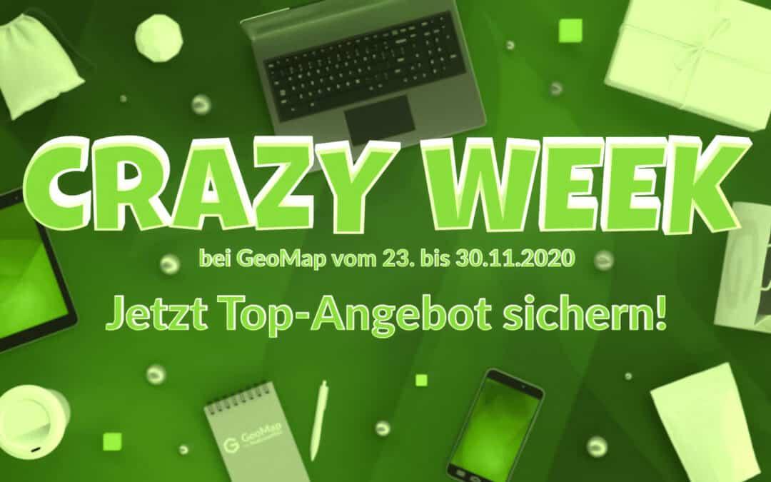 GeoMap Crazy Week mit Top-Angebot