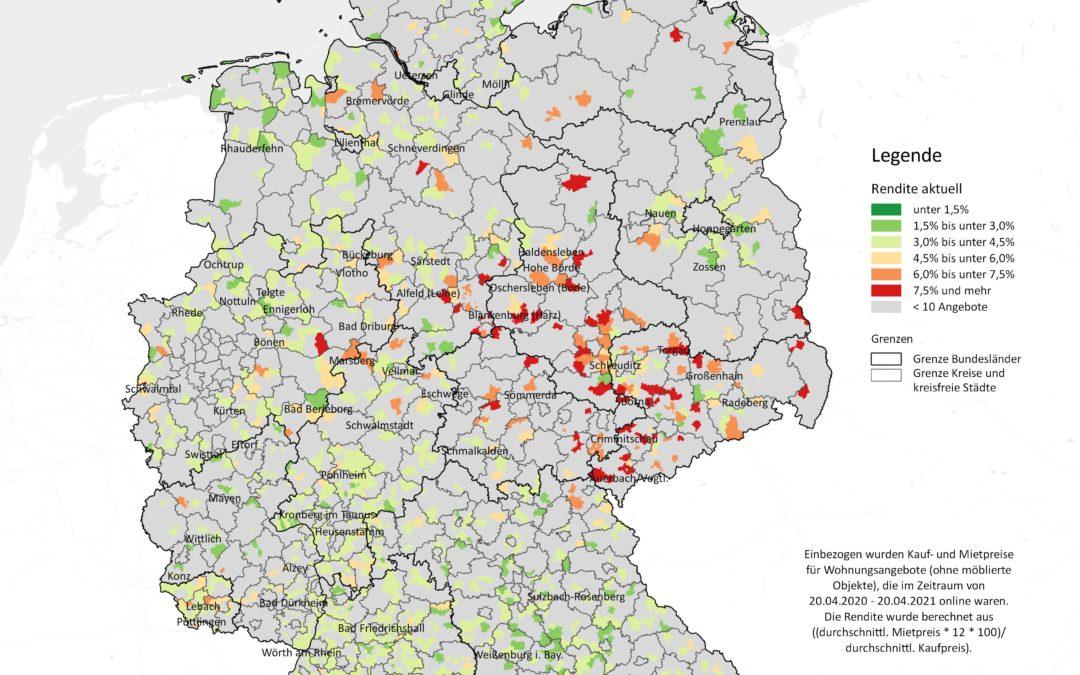 Kleinstädte: Hohe Renditen in Mitteldeutschland möglich
