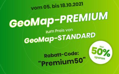 Bei GeoMap ist Premium Standard!